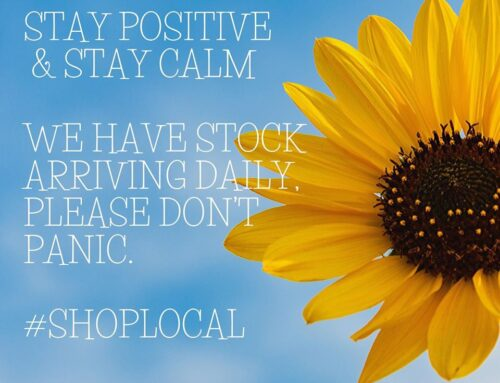 Stay positive, stay calm